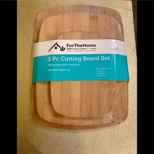 3 piece bamboo cutting boards